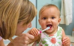Babys First Toothbrush 300x188