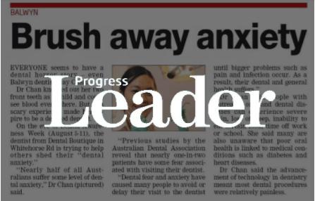 Brush Away Anxiety