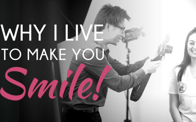Dr Reuben Sim: Why I Live To Make You Smile!